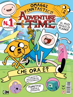 ADVENTURE TIME MAGAZINE 1