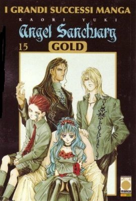 ANGEL SANCTUARY MANGA GOLD 15