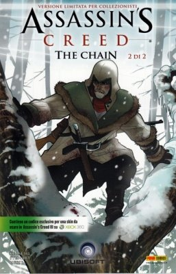 ASSASSIN'S CREED THE CHAIN 2 VERSIONE X-BOX 360 CON CODICE - PANINI COMICS MIX 35