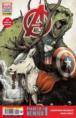 AVENGERS 29 COVER B ANIMAL - AVENGERS 14 ALL-NEW MARVEL NOW!