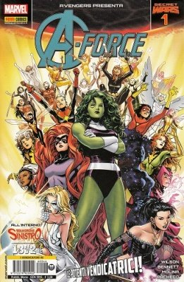 AVENGERS 46 - AVENGERS PRESENTA A-FORCE 1 - SECRET WARS 1