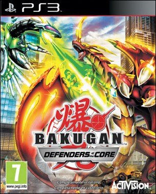 BAKUGAN DEFENDERS OF THE CORE PS3