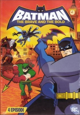 BATMAN THE BRAVE AND THE BOLD 2 DVD