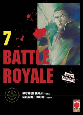 BATTLE ROYALE 7 RISTAMPA