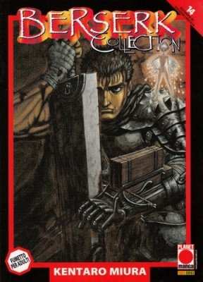 BERSERK COLLECTION 14 SERIE NERA RISTAMPA