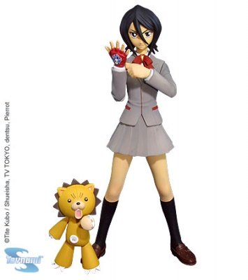 BLEACH RUKIA E KON ACTION FIGURE