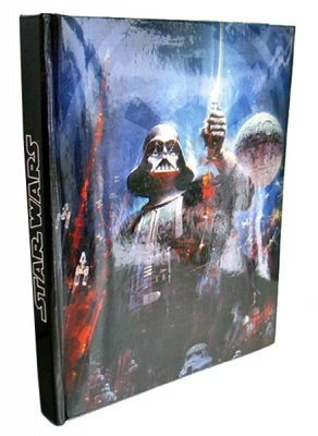 BLOCK NOTES MUSICALE STAR WARS DARTH VADER