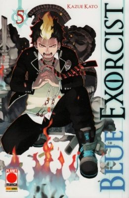 BLUE EXORCIST 5 RISTAMPA