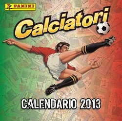 CALENDARIO CALCIATORI PANINI 2013 + SET ADESIVI