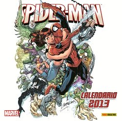 CALENDARIO SPIDER-MAN 2013 + SET ADESIVI