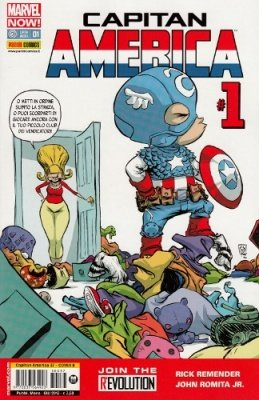 CAPITAN AMERICA 37 COVER B SKOTTIE YOUNG - CAPITAN AMERICA 1 MARVEL NOW!
