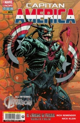 CAPITAN AMERICA 56 CAPITAN AMERICA 20 ALL NEW-MARVEL NOW!