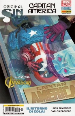 CAPITAN AMERICA 58 CAPITAN AMERICA 22 ALL NEW-MARVEL NOW!