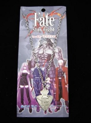 COLLANA CON CIONDOLO FATE STAY NIGHT