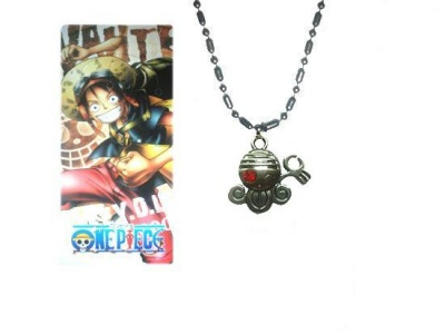 COLLANA CON CIONDOLO SKULL 2 ONE PIECE