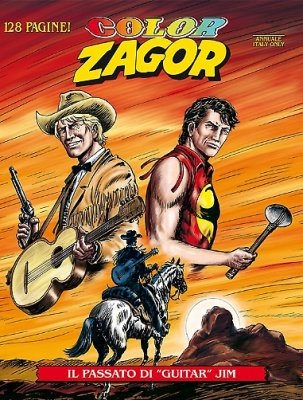 "COLOR ZAGOR 3 - IL PASSATO DI ""GUITAR"" JIM"