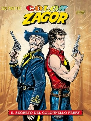 COLOR ZAGOR 4 - IL SEGRETO DEL COLONNELLO PERRY