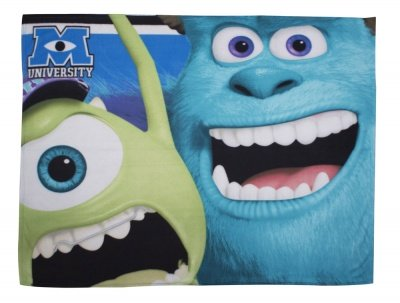 COPERTA PLAID MONSTERS UNIVERSITY
