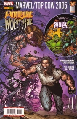 CULT COMICS 33 - WITCHBLADE WOLVERINE E DARKNESS HULK