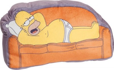CUSCINO HOMER SIMPSONS COUCH