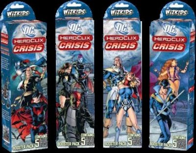 DC HEROCLIX CRISIS BOOSTER PACK