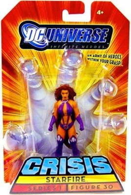 DC INFINITE HEROES CRISIS 1 STARFIRE ACTION FIGURE