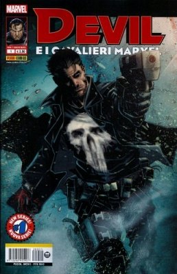 DEVIL E I CAVALIERI MARVEL 1 EDIZIONE VARIANT PUNISHER
