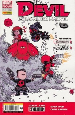 DEVIL E I CAVALIERI MARVEL 17 COVER B SKOTTIE YOUNG