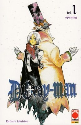 DGRAY-MAN 1 TERZA RISTAMPA