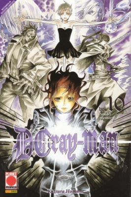 DGRAY-MAN 10 RISTAMPA