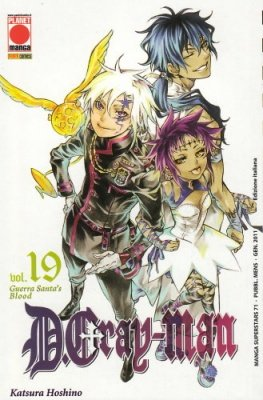 DGRAY-MAN 19 RISTAMPA