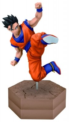 DRAGONBALL Z SON GOHAN DXF FIGHTING COMBINATION VOL. 4 GOHAN