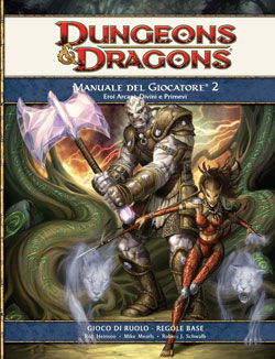 DUNGEONS & DRAGONS MANUALE DEL GIOCATORE 2