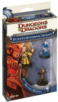 DUNGEONS & DRAGONS MINIATURES - PLAYER'S HANDBOOK HEROES - ARCANE 2 BOOSTER PACK - 4a EDIZIONE