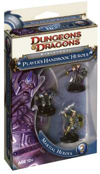 DUNGEONS & DRAGONS MINIATURES - PLAYER'S HANDBOOK HEROES - MARTIAL 2 BOOSTER PACK - 4a EDIZIONE