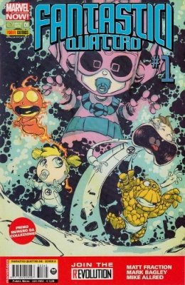 FANTASTICI QUATTRO 345 COVER B SKOTTIE YOUNG - FANTASTICI QUATTRO 1 MARVEL NOW!