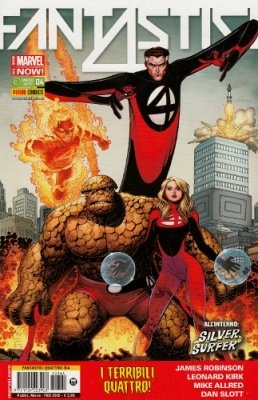 FANTASTICI QUATTRO 364 - FANTASTICI QUATTRO 4 ALL-NEW MARVEL NOW!
