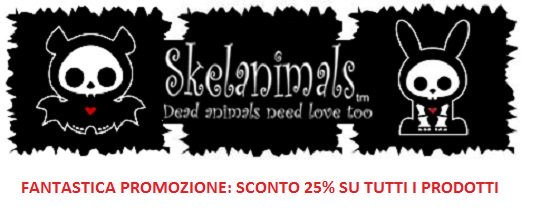 PROMO SKELANIMALS SCONTO 25%