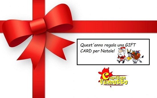 GIFT CARD NATALE 2018