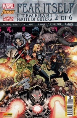FEAR ITSELF I TEMERARI FERITE DI GUERRA 2 - MARVEL WORLD 10