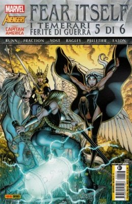 FEAR ITSELF I TEMERARI FERITE DI GUERRA 5 - MARVEL WORLD 13