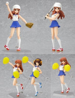 FIGMA 033 MIKURU ASAHINA CHEERLEADER ACTION FIGURE