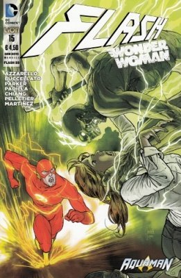 FLASH/WONDER WOMAN N. 15