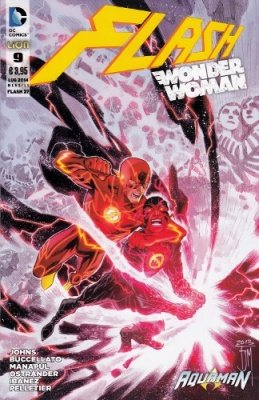 FLASH/WONDER WOMAN N. 9