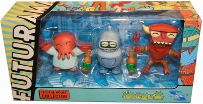 FUTURAMA TINEEZ FIGURE SET