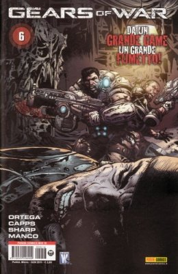 GEARS OF WAR 6 - PANINI COMICS MIX 16