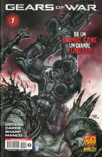 GEARS OF WAR 7 - PANINI COMICS MIX 17