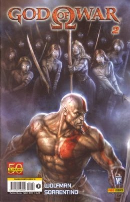 GOD OF WAR 2 - PANINI COMICS MIX 18