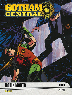 GOTHAM CENTRAL 9 - ROBIN MORTO