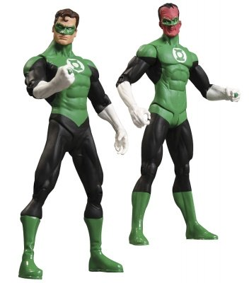 GREEN LANTERN REBIRTH COLLECTOR SET 2 PZ. ACTION FIGURE